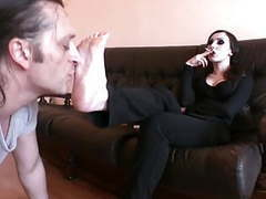 Foot goddess bojana gets her feet worshiped videos