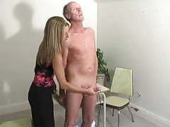 Hot boss girl jerking old man -f70 movies at kilogirls.com