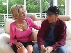 Blonde mature and young guy part1 by jackass videos