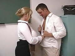 Horny big tits teacher tubes