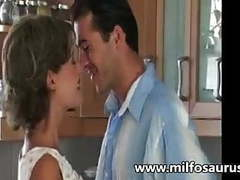 Housewife gets banged in the kitchen movies at kilovideos.com