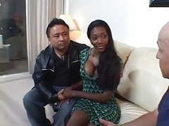 Sexy black wife gets screwed in front of husband movies at kilogirls.com