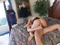 Lovely milf bionca seven fucks a nice hung stud videos
