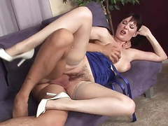 Big tits milf in stockings fucks on the sofa movies at find-best-lesbians.com