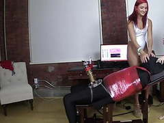 Femdom machine milking movies at kilopics.com