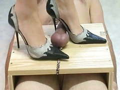 High heels torturing cock movies at freekilosex.com