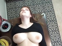 Big tit amateur hard fucked at home videos
