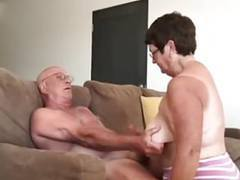 Wife giving husband a blow hand job movies at find-best-mature.com