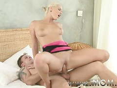 Mom horny blonde milf craves his cock movies