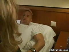 Dutch maid fucks hotel room guest! videos
