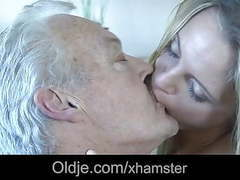 White haired grandpa fucks his dummy young maid movies at find-best-pussy.com