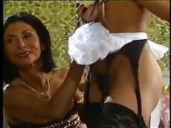 Mature lady and her black maid doing a guy - vintage movies at sgirls.net