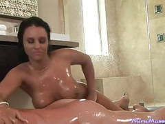Busty australian masseuse gives a nuru gel massage movies at find-best-panties.com