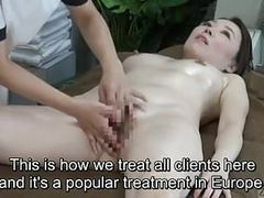 Subtitled cfnf japanese oiled up lesbian vaginal massage spa movies at kilomatures.com