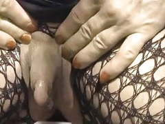 Colette and her enormous erect clitoris tubes