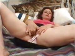 Hairy amateur mature milf masturbating her old vagina movies at find-best-mature.com