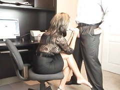 Hot milf office oral videos