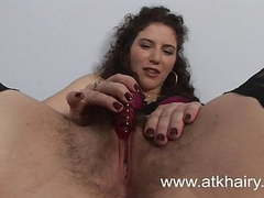 Hairy sativa verte wakes up horny and masturbates with toys movies at find-best-videos.com