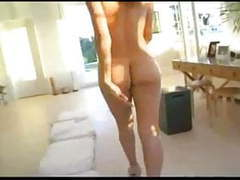 Hot mom monique fuennettes plays with boy toy tubes