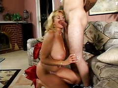 Big titted mom has a young lover movies at freekiloporn.com