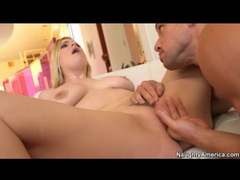 Cramming cock into a curvy blonde girl movies at sgirls.net