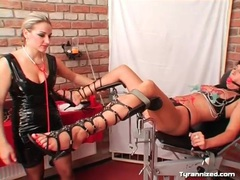 Clamps on the cunt of girl submitting to mistress movies at nastyadult.info