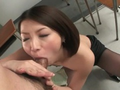 Japanese cutie rims ass and sucks cock videos