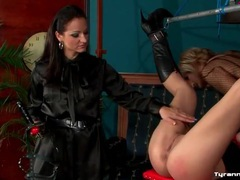 Sissy guy and mistress dominate submissive girl videos