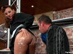 He licks cream off her ass and munches her pussy movies at sgirls.net