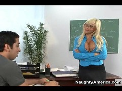 Seductive teacher puma swede blows student videos
