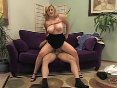 Curvy blonde with big titties rides a dick movies at find-best-tits.com