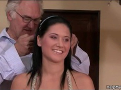 Husband gives young wife new man for gift clip