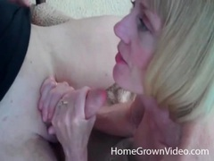 Big titty mature gives a good blowjob outdoors videos