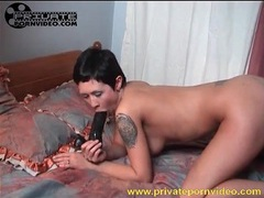 Young roksana sits pussy on big black dildo videos