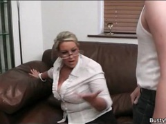 Secretarial girl sucks cock in her glasses movies at find-best-tits.com