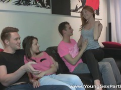 Young sex parties - fucking welcome to group sex videos