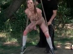 Busty samantha bentley in rope bondage movies at sgirls.net