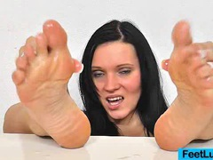 Ema black oily feet movies at find-best-hardcore.com