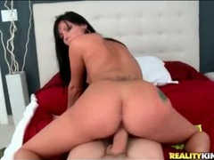 Slutty jade sits cunt on cock in reverse cowgirl tubes