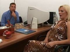 Hairy italian anal and pissing in the office videos