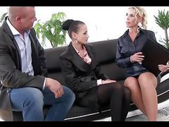 Elegant business lady  get pissed on for the business... movies at kilopills.com