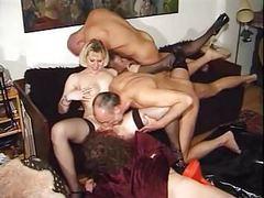 Kinky austrian anal orgy tubes