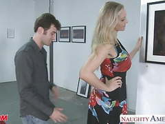 Sexy blonde mom julia ann gets big jugs fucked tubes