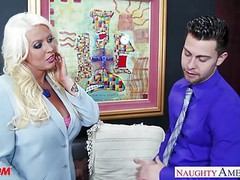 Blonde mom alura jenson gets large tits fucked movies at nastyadult.info