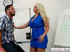 Blonde mom alura jenson fuck a big shaft movies at nastyadult.info