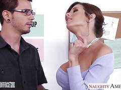 Stockinged veronica avluv fuck in the office videos