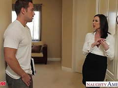 Chesty mom kendra lust gets facial tubes