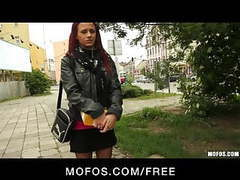 Public pickups - playful redhead is convinced to try anal videos
