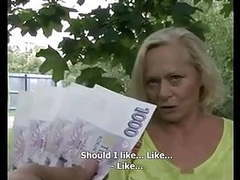 Sometimes, money talks #4 (busty blonde granny gilf!) videos
