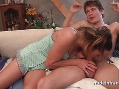 French mom seduces young boy a swallow his cum movies at adspics.com